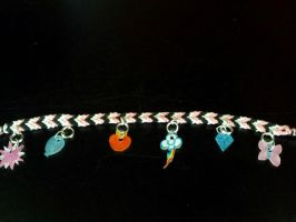 For Sale: MLP Cutie Mark Charm Bracelette by skipperofotters05