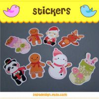 X'mas Stickers by Papacan