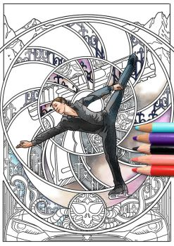 Jason Brown Coloring Page by Akoustam5