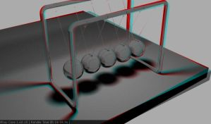 Desk Top Toy ANAGLYPH by KahaliTao