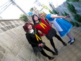 Persona 4 Cosplay by Rins
