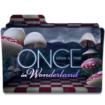 Once upon a time in Wonderland folder icon by LeaBeaudoin