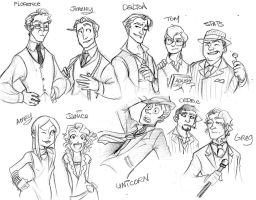 LD Humanfancharacters by Crispy-Gypsy