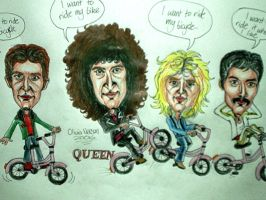 Queen Caricature by livneeson
