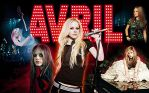 Avril Lavigne Collage 10 years by Drawer88