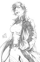 Rachel Grey Pencils by hanzozuken