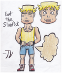 Contest Entry: Fart Gijinka (Stunfisk) by TempestVortex