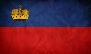 Liechtenstein's Flag by pilwe