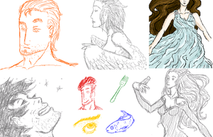 Croquis sur iScribble #3 by Gladrin