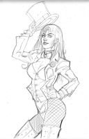Zatanna Pencils by KomicKarl