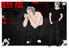 River Fall - Dead Age Ref Sheet by Esaki