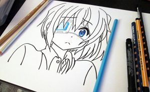 Rikka Takanashi WIP by Aenea-Jones