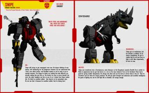 DINOBOT SNIPE by F-for-feasant-design