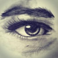 Drawing of Realistic Eye by DontEatMyPiexD