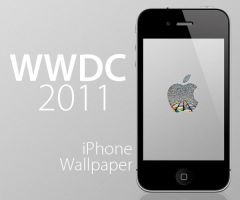 WWDC iPhone Wallpaper by RobotBoyMedia
