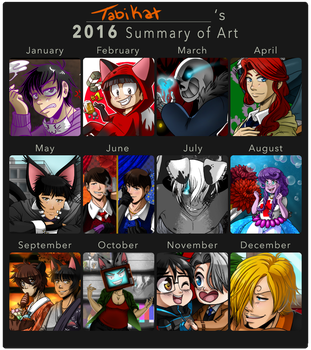 2016 Summary of Art by Tabikat