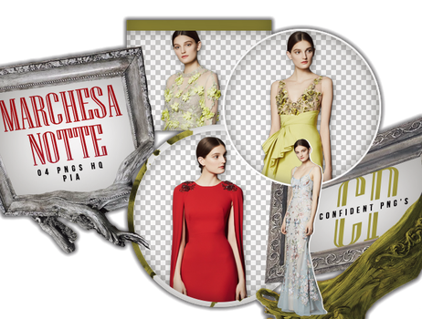 Png Pack 650 // Marchesa Notte by confidentpngs