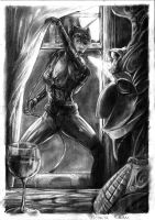 Catwoman by Fladam