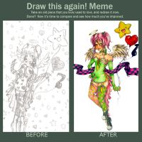 Meme: Before and After by WonderlandOfThought