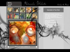 Web Template3 by chuletz