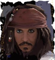 Jack Sparrow second attempt by dalmuln