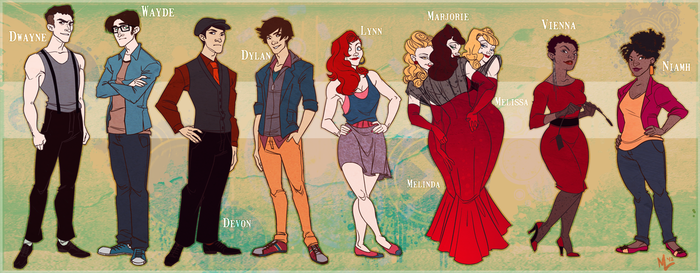The Cast by AutumnalDaydreams