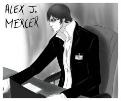 ::PROTOTYPE: Scientist Alexander J. Mercer:: by Lanzio