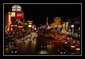 Vegas Strip by martinshiver