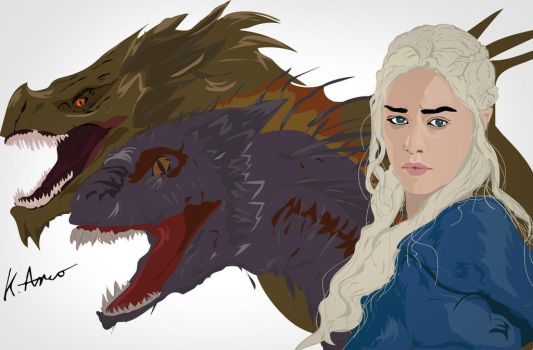 Khaleesi by BasicallyCrazy