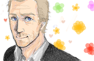 Hugh Laurie by zer03908