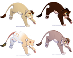 TLK Cub Adoptables (OPEN) by 18Gingasoldier