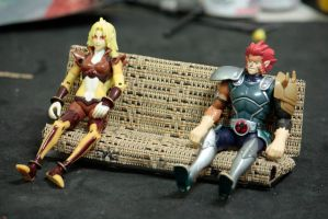 The Lion-O and Cheetara Test by BobTheWrench