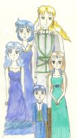 Mercury Royal Family by KonekoTsukino