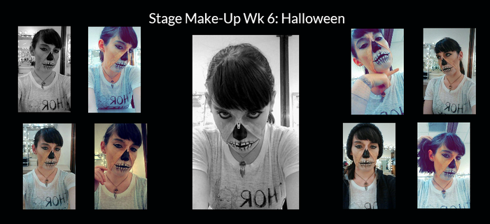Stage Make-Up Wk 6 by Lady-Ceridwen