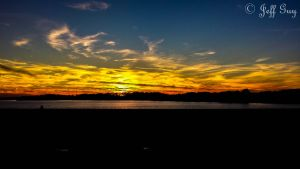 Project 365 - 322 - Fire In The Sky by jguy1964