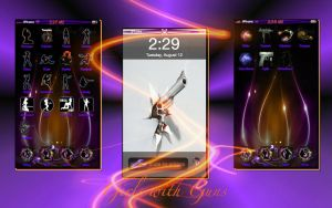 Girls with Guns iPhone Theme by Tjo