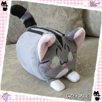 Tubey Tabby Cat Commission by CatNapCaps