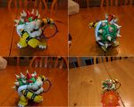 Bowser Playing Tennis by JessIzMe