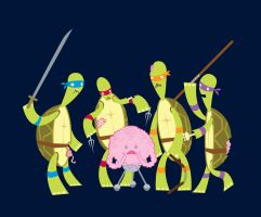 Teenage Zombie Ninja Turtles by spicysteweddemon