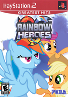 Rainbow Heroes by nickyv917