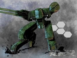 Metal Gear REX by diabolicol