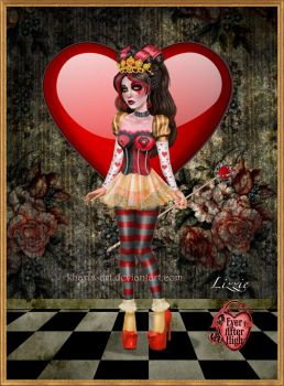 Lizzie Hearts - Ever After High by kharis-art