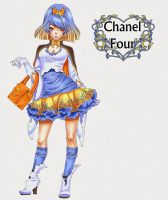 Chan Prin - Design - Chanel Four by xiannustudio