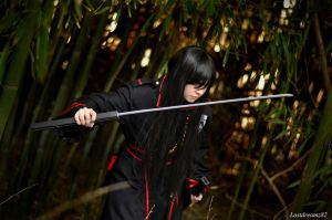 Kanda Yuu, I'll slice through you by Lostdreamz82