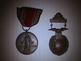 WORLD WAR 2 MEDALS!!!!!!!! by Jaws1996