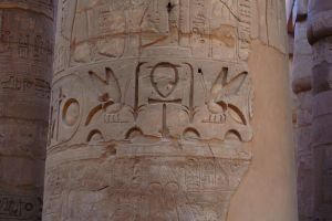 Karnak Temple 2 Hieroglyphics by mynando