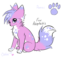 Adoptable Fox 1 [SOLD] by PuffySmosh