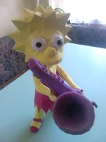 Lisa Simpson Pepakura by galis33
