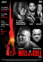 WWE Hell in a Cell 2015 Poster by Chirantha
