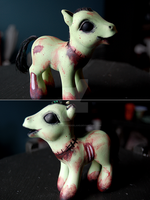My Little Zombie Pony by ShannonInWonderland